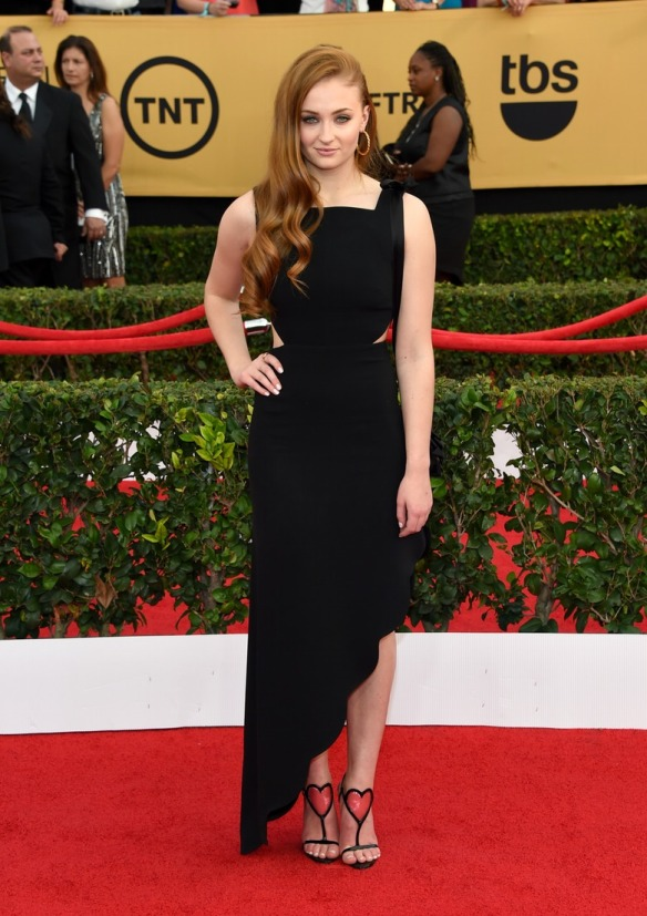 sophie turner SAG AWARDS