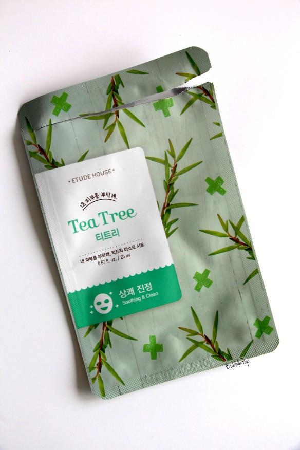 masque etude house tea tree 2